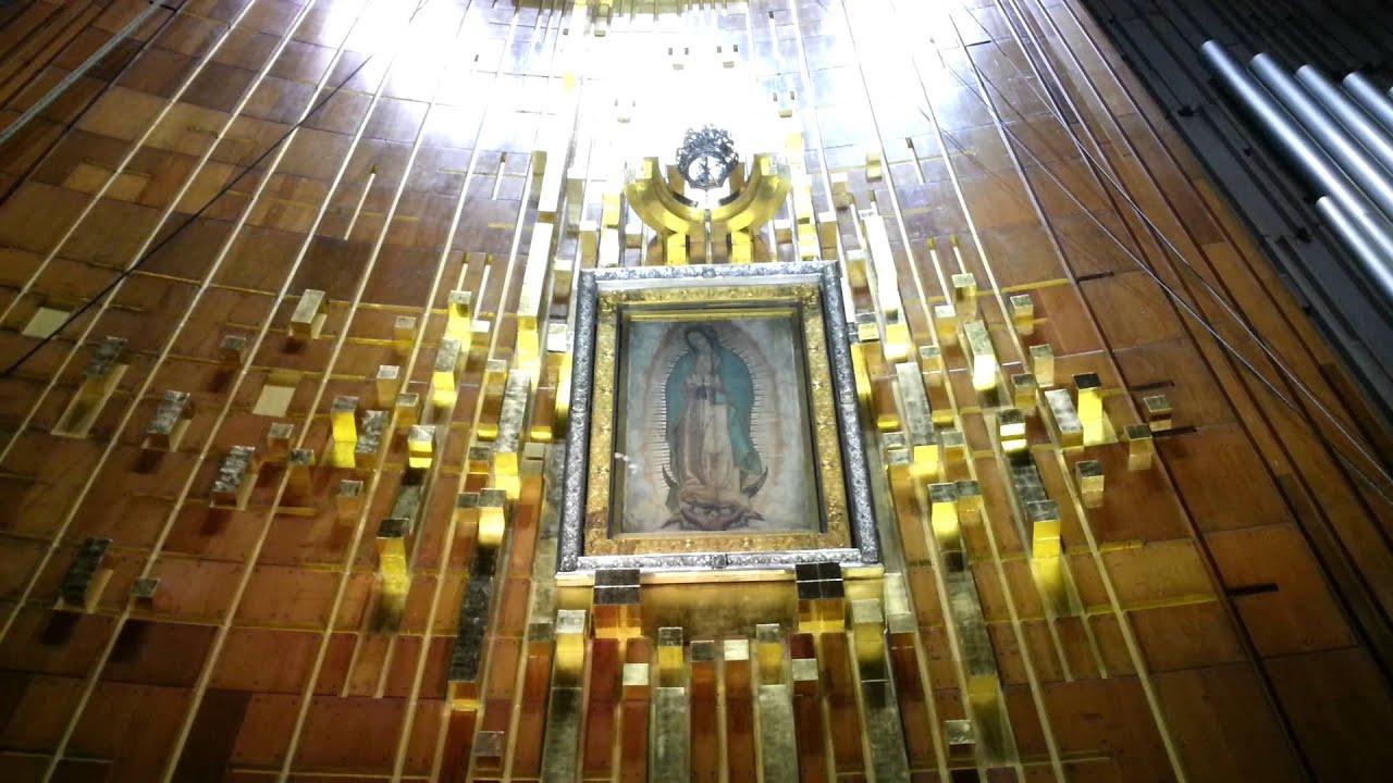 Visita a la Basilica de la Virgen de Guadalupe - YouTube