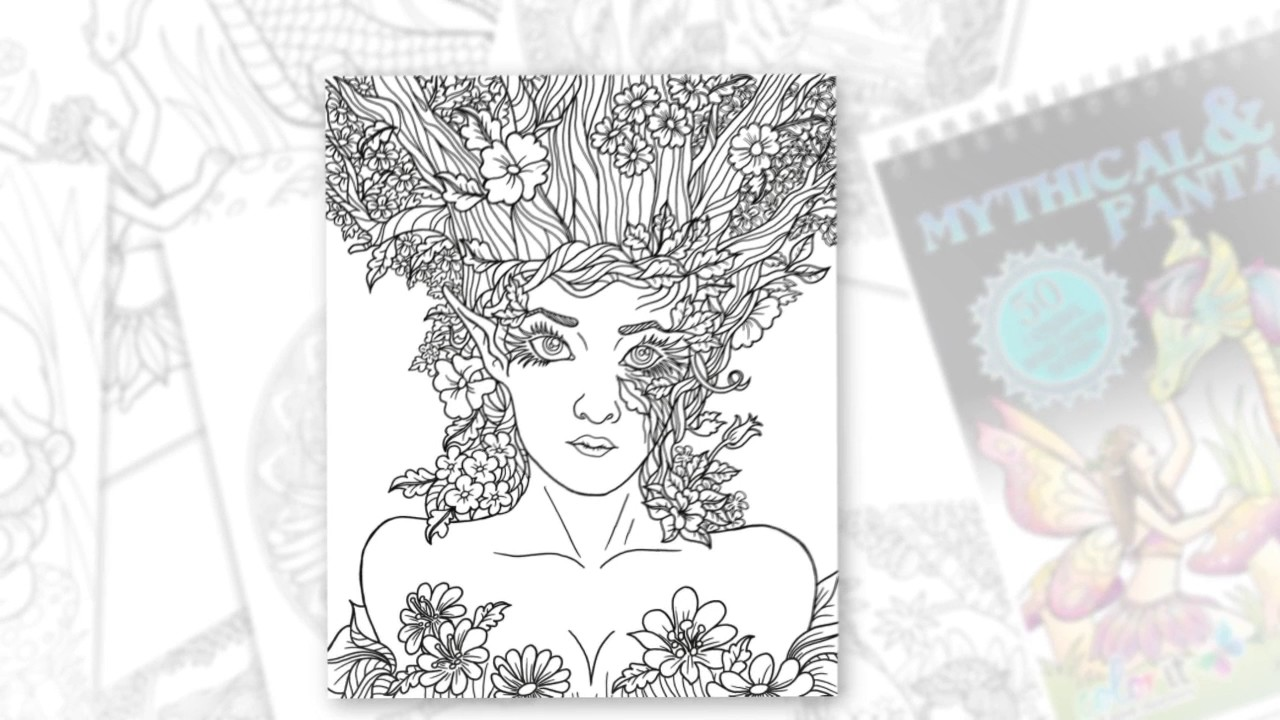 The coloring book tour opener - Tour Mythical Fantasy By Colorit Colorit Coloring Books