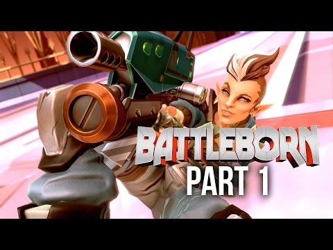 Battleborn Gameplay Walkthrough Part 1 - PROLOGUE (PC 60fps Gameplay)