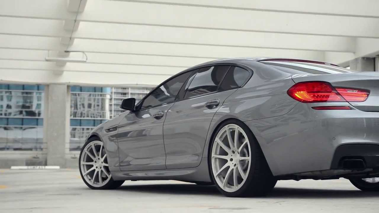 2013 Bmw 650 Gran Coupe On 21 Quot Velos Solo X Forged Wheels