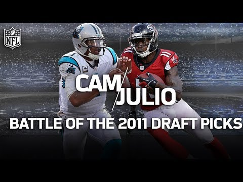 Cam Newton vs. Julio Jones: Battle of the NFC South Rivals | NFL Highlights
