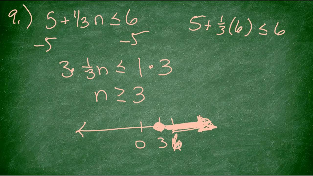 Solving inequalities worksheet youtube solving inequalities worksheet robcynllc Images