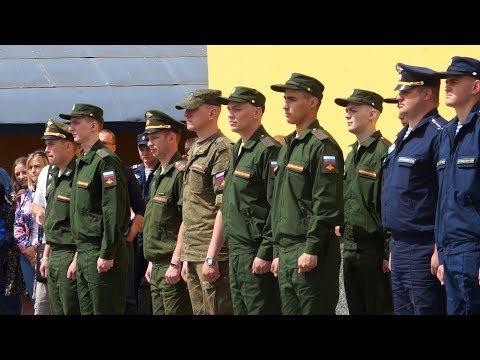 Выпускники ТУСУРа отправились служить внаучные роты