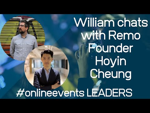 William talks to Hoyin Cheung, founder of Remo, a brilliant online ...