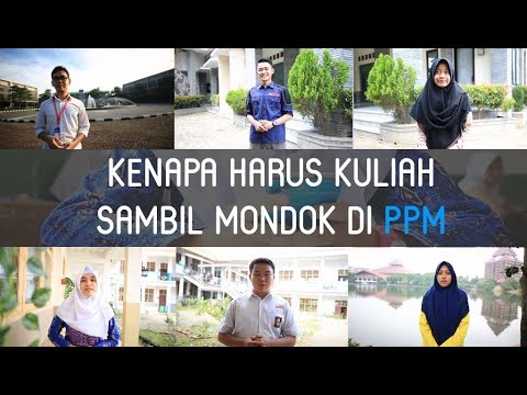 """Kenapa Harus Kuliah Sambil Mondok di PPM """"Pondok Pesantren Mahasiswa""""?"""
