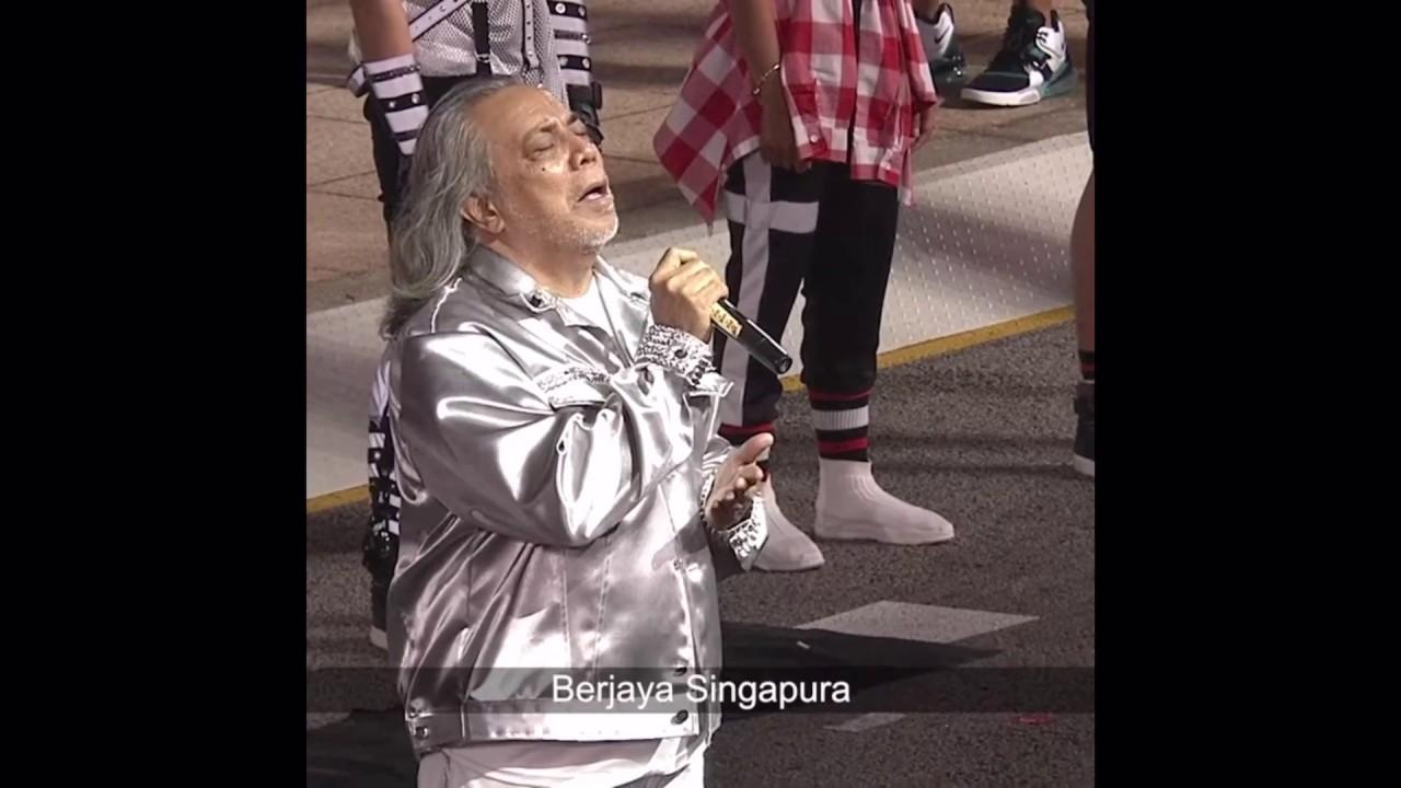 Majulah Singapura Ndp 2019 Sung By Ramli Sarip Youtube