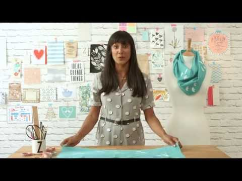 How to Print on Fabric: Screen Printing with an Embroidery Hoop