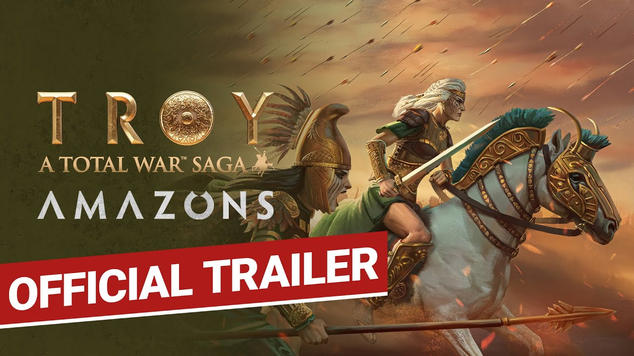 AMAZONS / Official Trailer / Total War: TROY