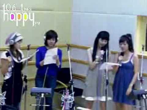 SNSD - Upside Down @ FM Inkigayo Aug27.2007 GIRLS' GENERATION Live