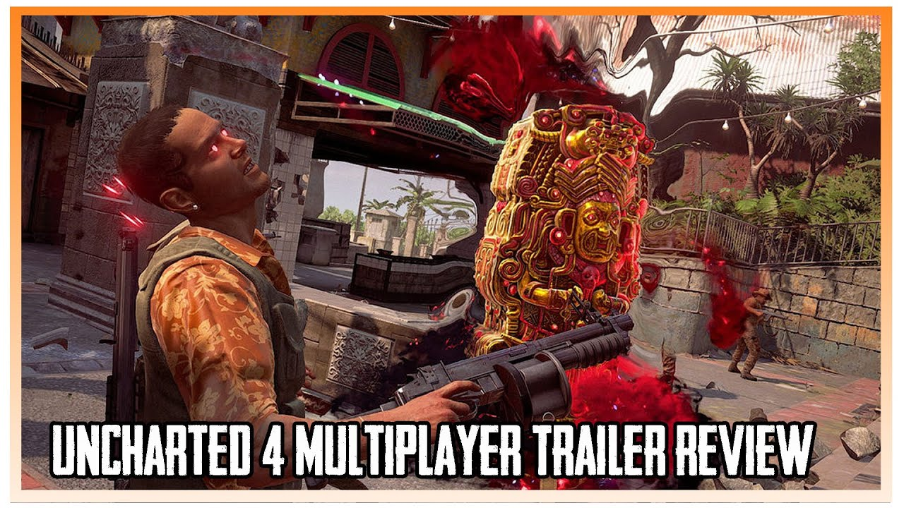 Uncharted 4 Multiplayer Trailer Review - YouTube