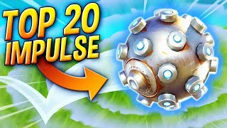 TOP 20 BEST IMPULSE GRENADES OF ALL TIME - FORTNITE