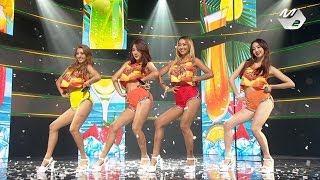 [STAR ZOOM IN] 씨스타(SISTAR) - Touch my body @M COUNTDOWN