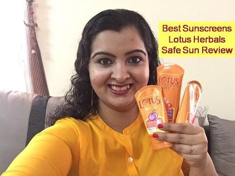 Best Sunscreens - Lotus Herbals SafeSun Review