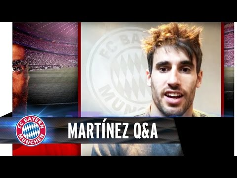 Question and Answer mit Javi Martínez