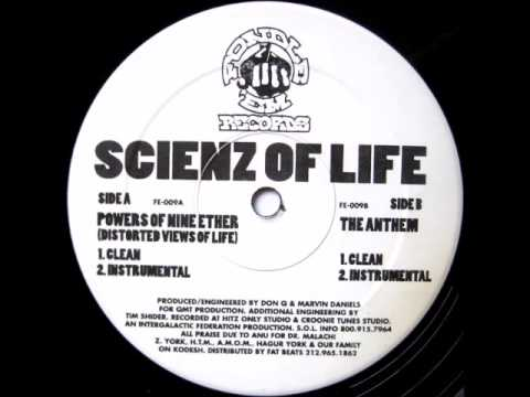 Scienz Of Life - The Anthem (Instrumental)