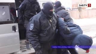 Полицейские нагрянули в незаконный игорный клуб в Чите