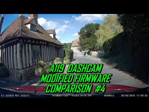Viofo A119 Dashcam World Tour MODs #4