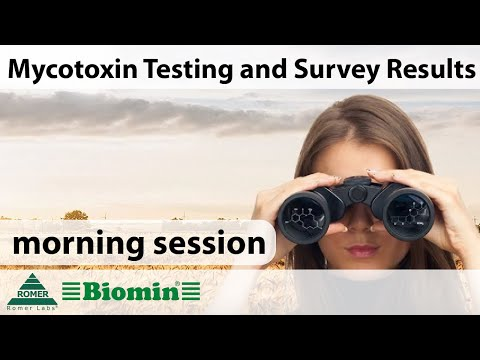 [Webinar] Mycotoxin Testing and Survey Results (morning session)