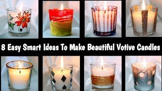 Votive Candle Holders Design Ideas | Diy Votive Candles |8 Super Designs For Votive Candles