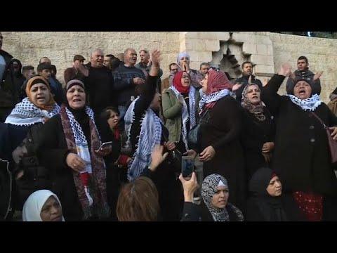 Gloom & defiance on the streets of East Jerusalem