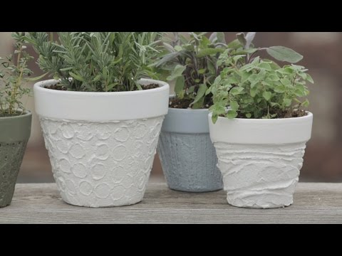 House & Home: Clay Pot DIY