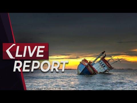 LIVE - 14 Kapal Nelayan Tenggelam Di Kalimantan Barat, 47 Orang Hilang