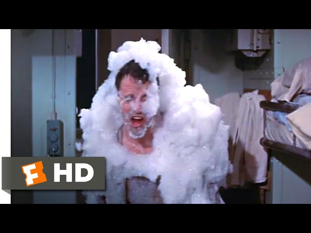 Mister Roberts (1955) - A Soapy Explosion Scene (7/10) | Movieclips