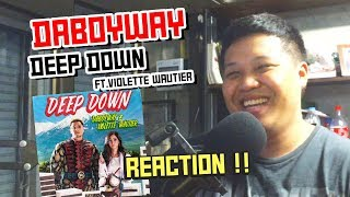 DABOYWAY, Violette Wautier - Deep Down | Reaction by Phuwa9