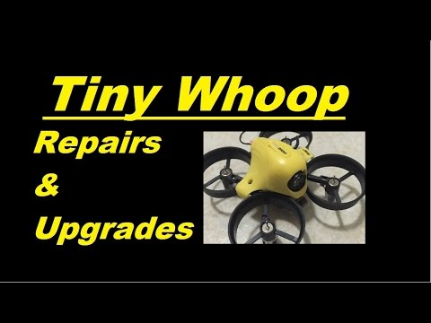How to upgrade repair blade inductrix or tiny whoop for Lumenier tiny whoop motors