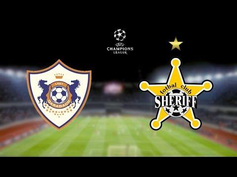 Лига чемпионов, ФК Карабах - ФК Шериф, 0-0,  25-07-2017