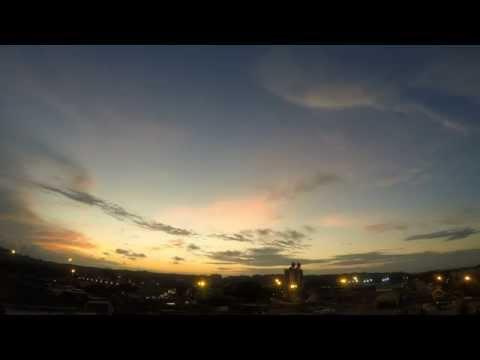 Brunei Port Sunset
