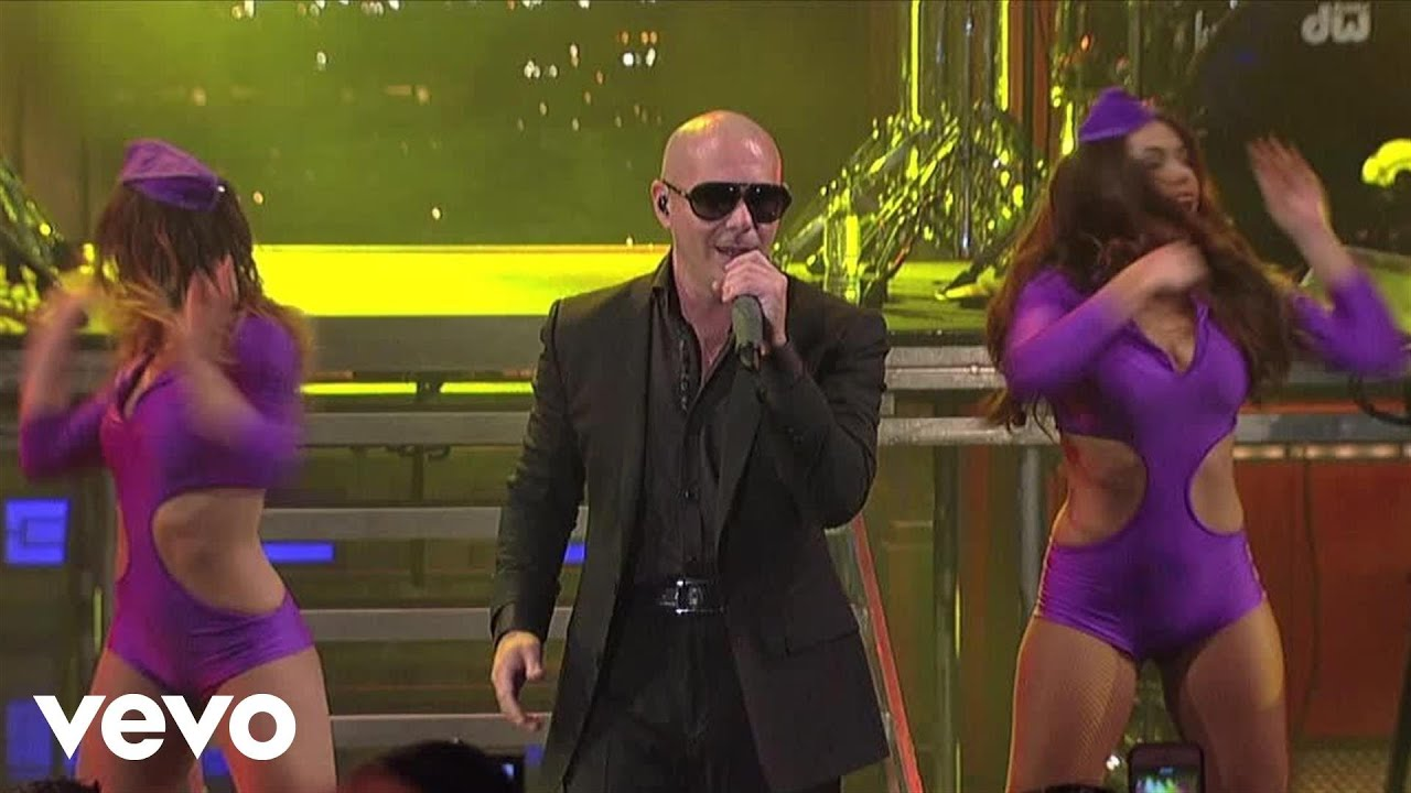 pitbull-international-love-live-on-letterman-pitbullvevo