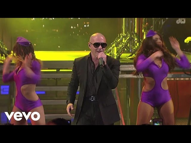 Pitbull – International Love (Live On Letterman)