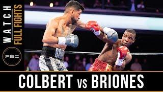 Colbert vs Briones FULL FIGHT: April 13, 2019 - PBC on FS1
