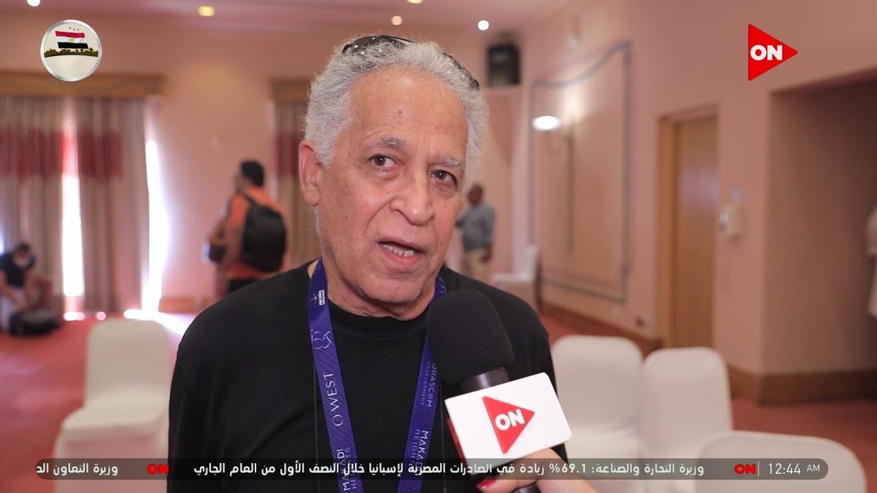 مهندس الديكور/ أنسي أبو سيف: أحمد السقا بينسى نفسه في الفيلم ويندمج في الدور #مهرجان_الجونة  - نشر قبل 12 ساعة