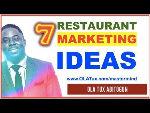 Restaurant Marketing Strategies - 7 Surefire Promotion Ideas for your Restaurant Business