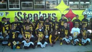 SYFL Jr. Clinic Champs P-Town Steelers!
