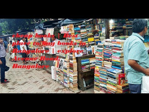 cheap & Best place to buy books in Bangalore (India) | explore Avenue Road, Bangalore | McTaiwer