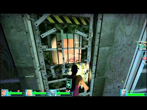 Left 4 Dead 2 Modded: Bot Stupidity And Special Infected Fails!