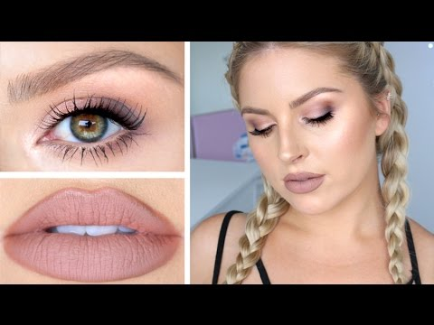 Hair Makeup Amp Skin Tutorial ♡ Soft Daytime Smokey Eye