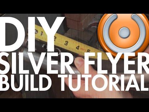 DIY Silver Flyer Steadicam for DSLR Build - Step by Step Tutorial