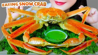 ASMR EATING WHOLE SNOW CRAB EATING SOUNDS | LINH-ASMR