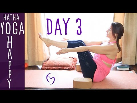 Day 3 - Hatha Yoga Happiness: Getting Rid of Clutter with Fightmaster Yoga