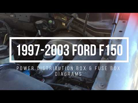 1997-2003 Ford F150 Fuse Box Locations & Diagrams