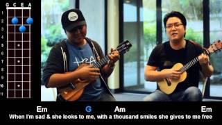 """Little Wing"" (Jimi Hendrix) Ukulele Play-Along! - rock and roll music ukulele"
