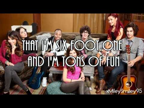 Victorious Cast - 5 Fingaz To The Face (with lyrics)