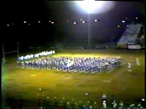 1980 81 Forest Park High School Beaumont Tx Trojans Marching Band