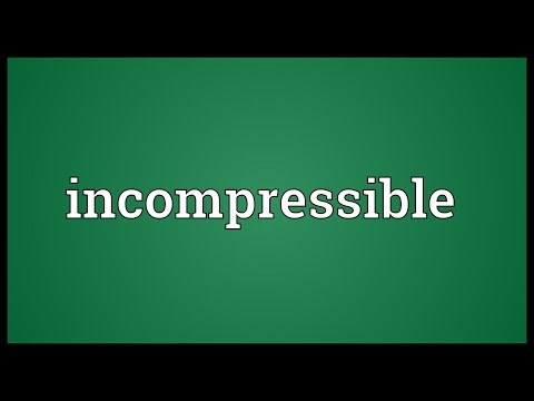 Header of incompressible
