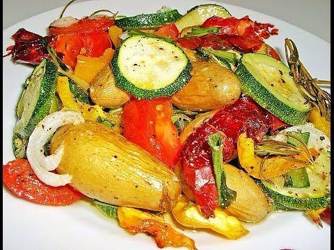 Печёный Картофель с овощами и мясом - Как Вкусно Запечь Картошку