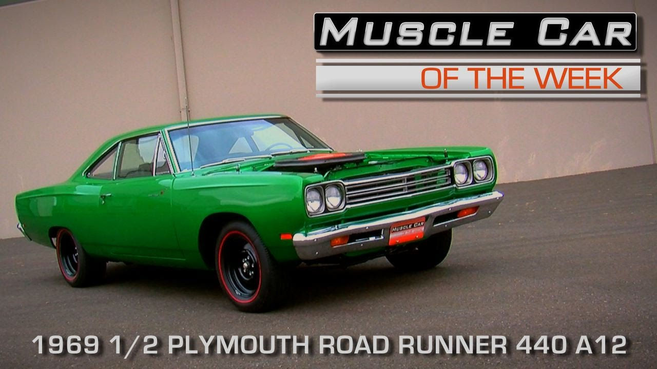Muscle Car Of The Week Video Episode 152 1969 1 2 Plymouth Road